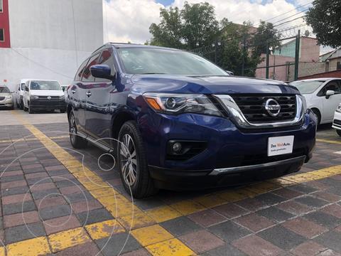 Nissan Pathfinder Exclusive usado (2017) color Azul precio $429,000