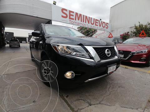 Nissan Pathfinder Advance usado (2016) color Negro precio $369,800