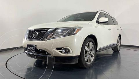 Nissan Pathfinder Advance usado (2015) color Blanco precio $342,999