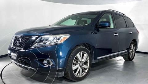 Nissan Pathfinder Exclusive usado (2014) color Azul precio $274,999