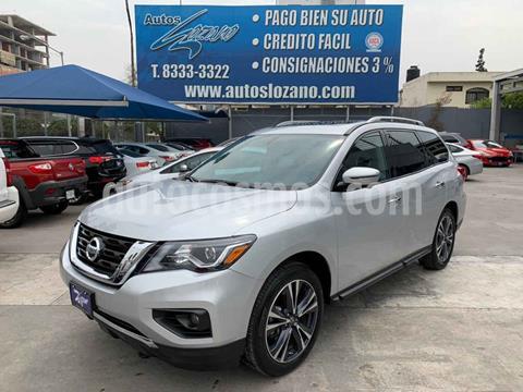 Nissan Pathfinder Exclusive 4x4 usado (2019) color Plata precio $649,900