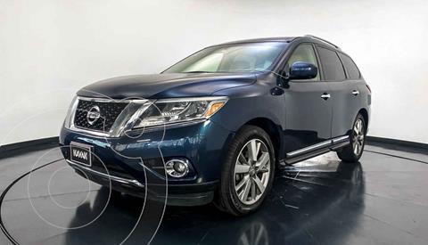 Nissan Pathfinder Exclusive usado (2015) color Azul precio $327,999