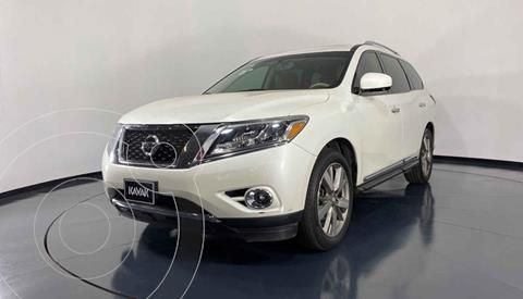 Nissan Pathfinder Exclusive usado (2015) color Blanco precio $327,999