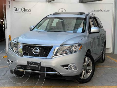 Nissan Pathfinder Exclusive 4x4 usado (2013) color Plata precio $255,000