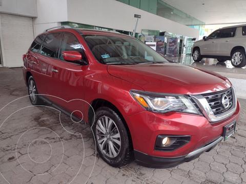 Nissan Pathfinder Advance usado (2017) color Rojo Cobrizo precio $399,900