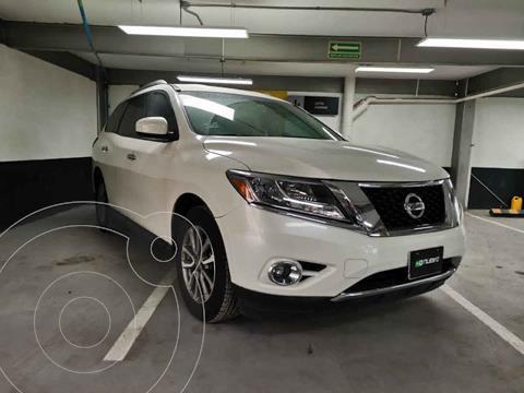 Nissan Pathfinder Sense usado (2016) color Blanco precio $315,000