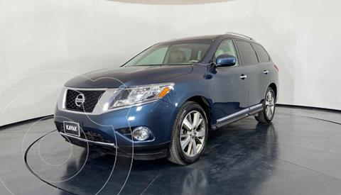 Nissan Pathfinder Exclusive usado (2015) color Azul precio $317,999
