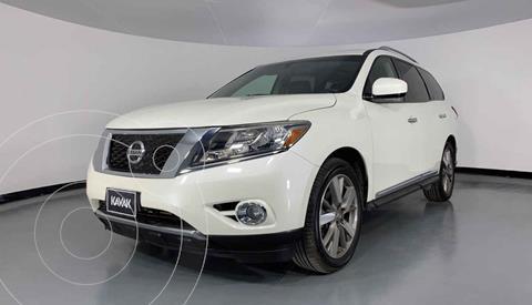 Nissan Pathfinder Exclusive usado (2015) color Blanco precio $314,999