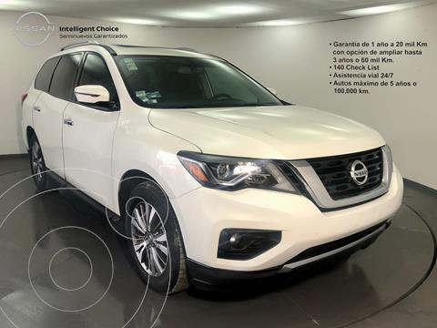 Nissan Pathfinder Advance usado (2018) color Blanco precio $480,000