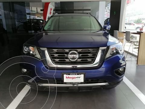 Nissan Pathfinder Exclusive usado (2017) color Azul precio $449,000