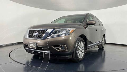 Nissan Pathfinder Sense usado (2015) color Beige precio $342,999