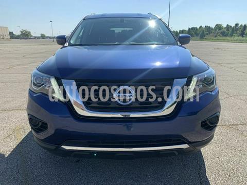 Nissan Pathfinder Exclusive 4x4 usado (2017) color Azul precio $270,000