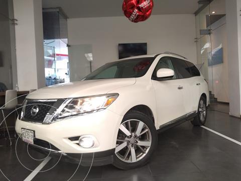 Nissan Pathfinder Exclusive usado (2016) color Blanco precio $399,000