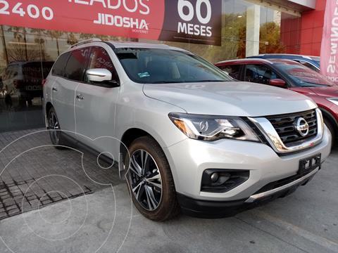 Nissan Pathfinder Exclusive usado (2020) color Plata Dorado precio $740,000