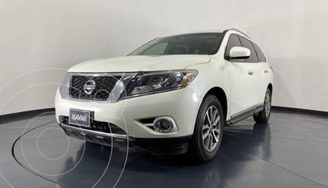 Nissan Pathfinder Advance usado (2015) color Blanco precio $304,999