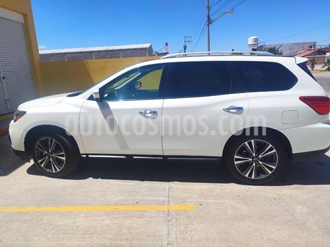 Nissan Pathfinder Exclusive usado (2018) color Blanco precio $480,000