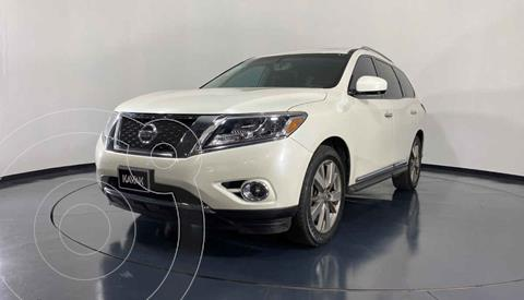 Nissan Pathfinder Advance usado (2015) color Blanco precio $344,999