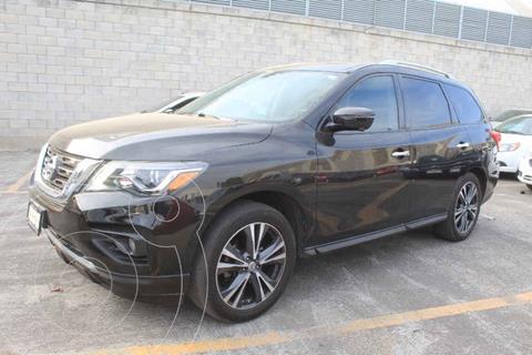 Nissan Pathfinder Exclusive 4x4 usado (2017) color Negro precio $399,000
