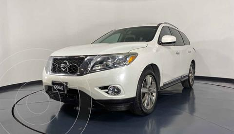 Nissan Pathfinder Advance usado (2014) color Blanco precio $267,999