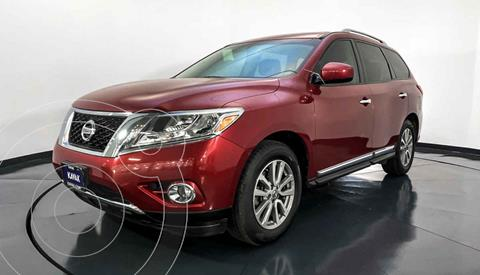 Nissan Pathfinder Advance usado (2015) color Rojo precio $342,999