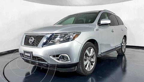 Nissan Pathfinder Exclusive usado (2014) color Plata precio $282,999