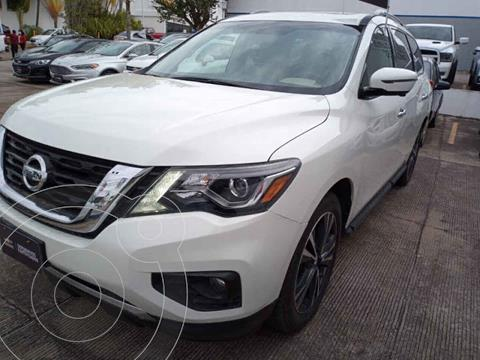 Nissan Pathfinder Exclusive usado (2018) color Blanco precio $480,000
