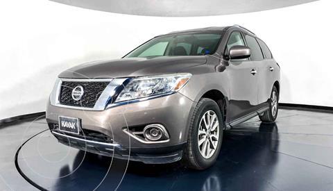 Nissan Pathfinder Sense usado (2014) color Gris precio $257,999