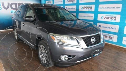 Nissan Pathfinder Advance usado (2013) color Gris financiado en mensualidades(enganche $88,270 mensualidades desde $8,713)