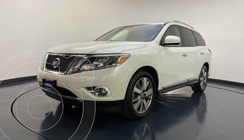 Nissan Pathfinder Advance usado (2015) color Blanco precio $332,999