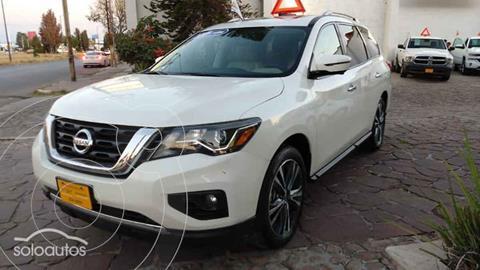 Nissan Pathfinder Exclusive usado (2017) color Blanco precio $435,000