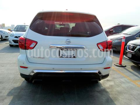 Nissan Pathfinder Exclusive usado (2018) color Blanco precio $587,242