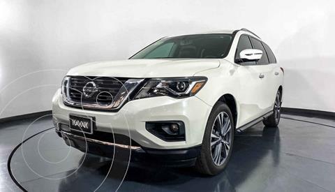 Nissan Pathfinder Advance usado (2018) color Blanco precio $442,999