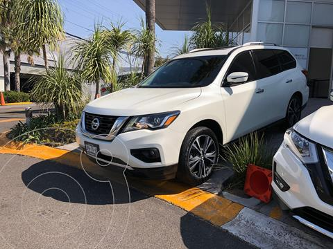 Nissan Pathfinder Exclusive 4x4 usado (2017) color Blanco precio $468,000