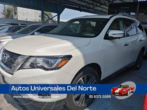 Nissan Pathfinder Exclusive 4x4 usado (2019) color Blanco precio $650,000