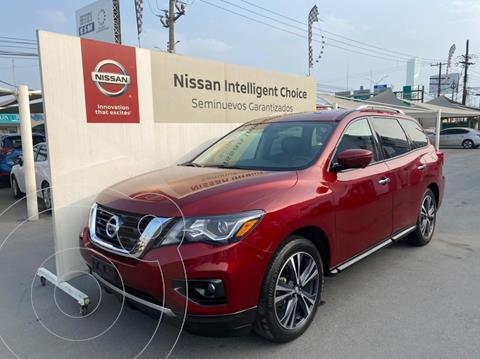 Nissan Pathfinder Exclusive usado (2019) color Rojo precio $590,000