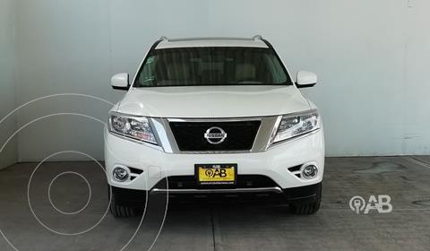 Nissan Pathfinder Exclusive 4x4 usado (2016) color Blanco precio $399,000