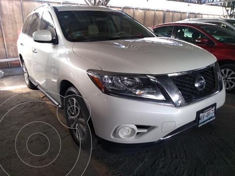 Nissan Pathfinder Sense usado (2015) color Blanco precio $259,000