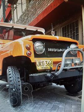 Nissan Patrol cabinado- usado (1979) color Naranja precio u$s20.000