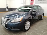 Foto venta Auto usado Nissan Sentra 4p Exclusive L4/1.8 Aut color Azul precio $155,900