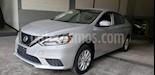 Foto venta Auto usado Nissan Sentra 4p Sense L4/1.8 Aut (2018) color Plata precio $239,000