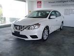 Foto venta Auto usado Nissan Sentra 4p Sense L4/1.8 Aut (2018) color Blanco precio $229,900