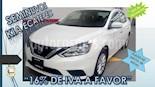 Foto venta Auto usado Nissan Sentra 4p Sense L4/1.8 Aut (2018) color Blanco precio $219,000