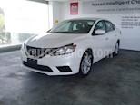 Foto venta Auto usado Nissan Sentra 4p Sense L4/1.8 Aut (2018) color Blanco precio $210,000