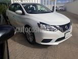 Foto venta Auto usado Nissan Sentra 4p Sense L4/1.8 Man (2017) color Blanco precio $195,000