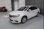 Foto venta Auto Seminuevo Nissan Sentra Advance Aut (2017) color Blanco precio $235,000