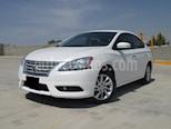 Foto venta Auto usado Nissan Sentra Advance Aut (2015) color Blanco Perla precio $168,000