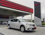 Foto venta Auto usado Nissan Sentra Advance Aut color Plata precio $245,000