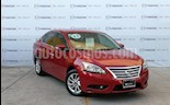 Foto venta Auto usado Nissan Sentra Advance Aut color Rojo Burdeos precio $157,000