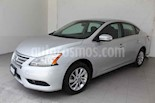 Foto venta Auto usado Nissan Sentra Advance (2013) color Plata precio $155,000
