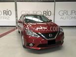 Foto venta Auto usado Nissan Sentra Advance (2017) color Rojo Burdeos precio $189,800
